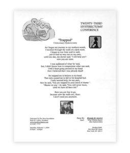 Brenda Lawton's Poem